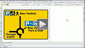 Using the CONE Sign Design tool - Event Management Roundabout Sign