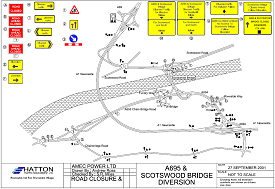 Bridge diversion scheme - click to view a  larger image