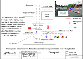Road closure scheme - click to view a larger image