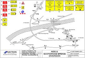 Bridge diversion scheme - click to view a larger image